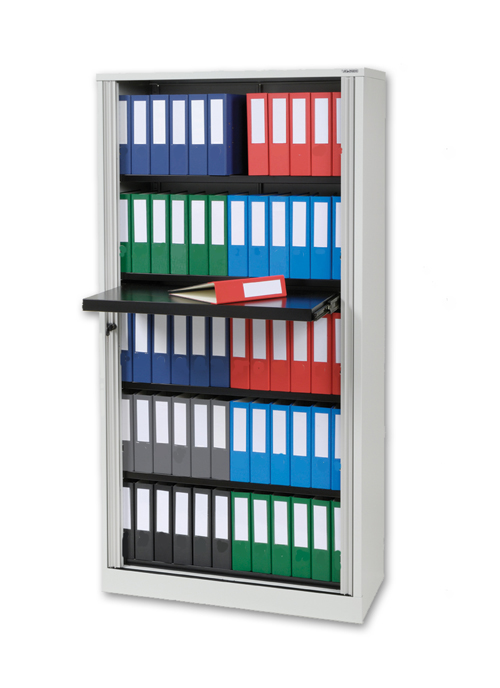 Tambour Door Binder Storage Cabinet Chart Pro Systems