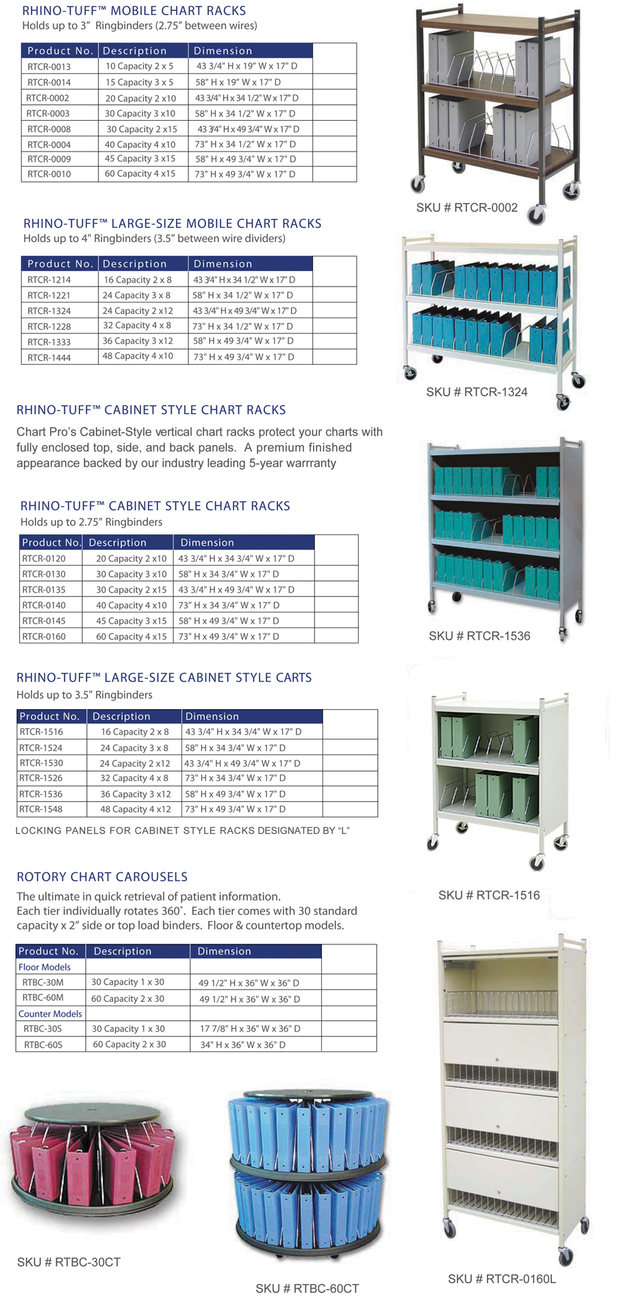 mobile-chart-racks-ringbinder-storage-carts-medical-binders
