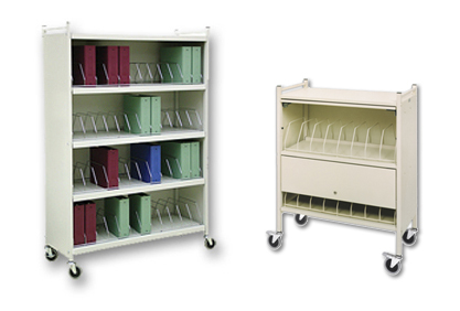 mobile_chart_racks_carts_binder_storage