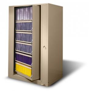 Rotary File Cabinet X2 Times 2 Chart Pro Systems