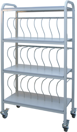 mobile_chart_ringbinder_storage_rack_cart